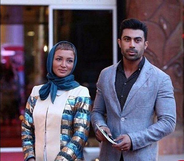 مدل و همسر بازیگر معروف در کنار خودرویی خاص+عکس