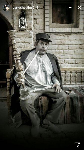 گریم خیلی قدیمی داریوش سلیمی + عکس