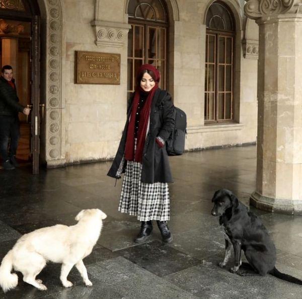 استایل سمیرا حسن پور در خارج از کشور + عکس