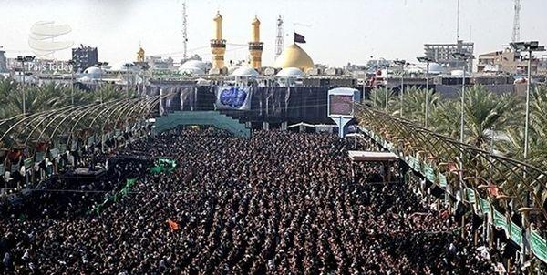 ورود یک میلیون و هشتصد زائر خارجی به عراق