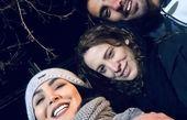 سلفی شبانه مریم معصومی با دوستانش + عکس