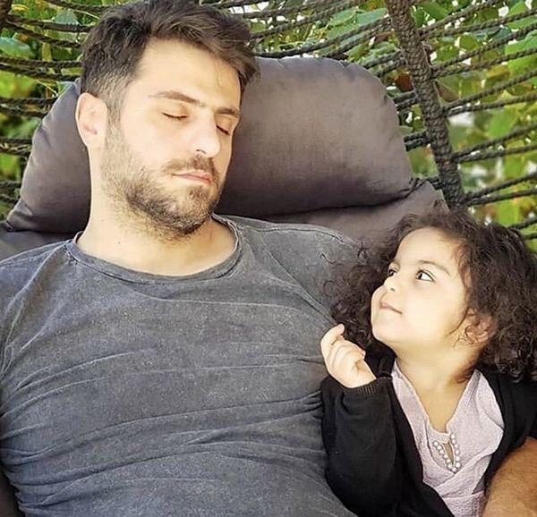 علی ضیا و خواهرزاده اش + عکس