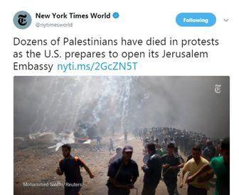 دشمنی نیویورک تایمز با مردم فلسطین با واکنش شدید روبرو شد