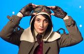 هدیه تهرانی با لباس خلبانی+عکس