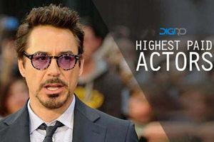 بازیگران هالیوودی که بیشترین مبلغ دستمزد را گرفته اند!