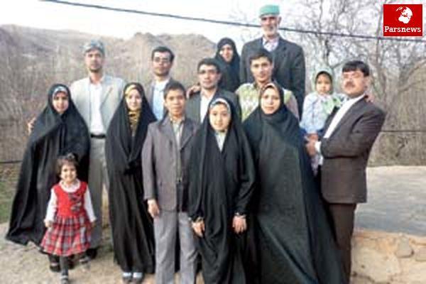 رمز موفقیت خانواده ای در دل روستای خرق