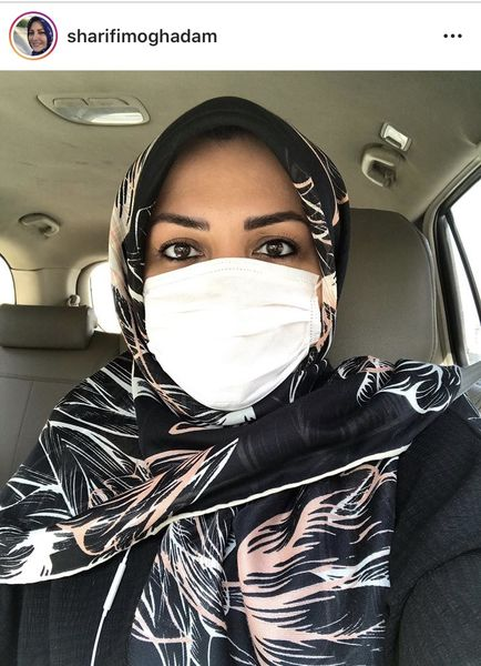 المیرا شریفی مقدم در همایش ماسک بزنیم + عکس