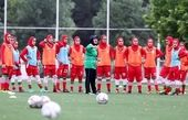 برگزاری دیدار دوستانه فوتبال بانوان در حضور نمایندگان مجلس