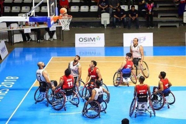 پیروزی بسکتبال ایران مقابل چین