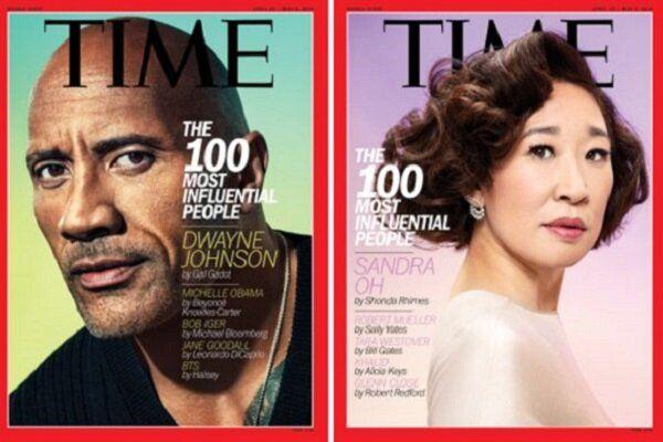 100 چهره تاثیرگذار ۲۰۱۹ مجله تایم معرفی شدند