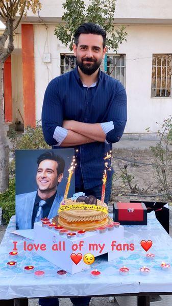 تولد خاص امیرحسین آرمان + عکس