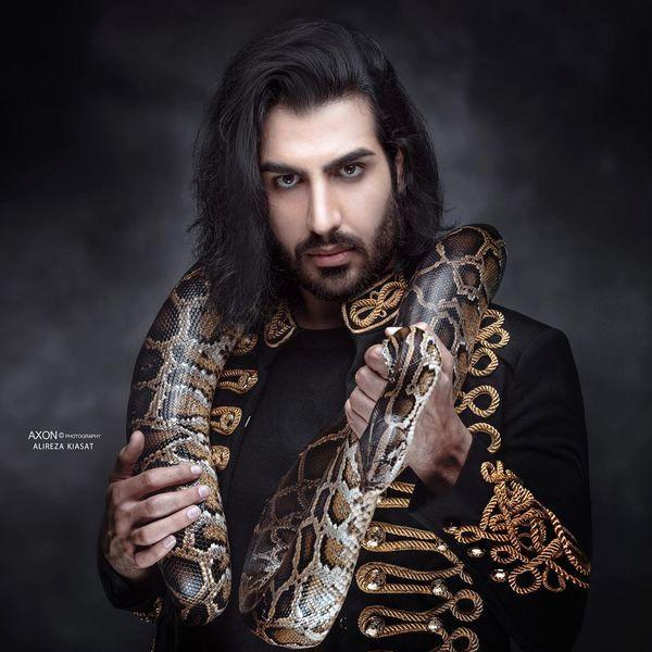حیوان ترسناک خواننده ماکان بند + عکس