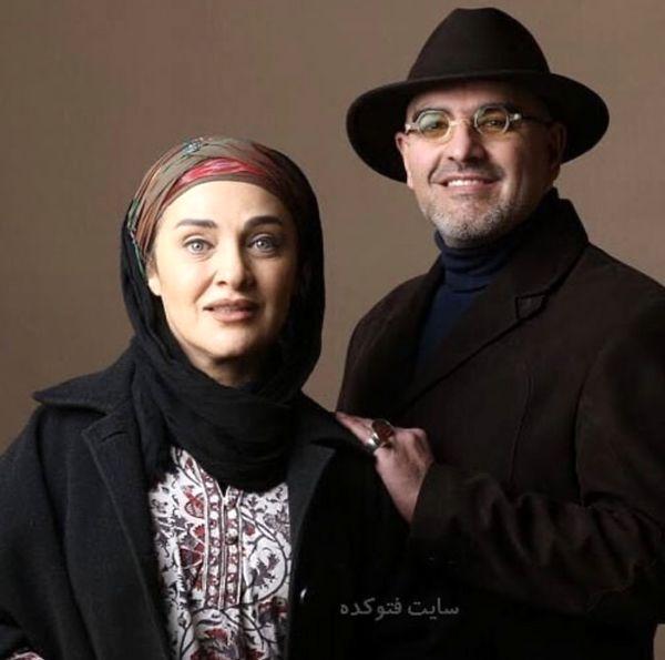 استایل خاص رویا نونهالی و همسرش + عکس