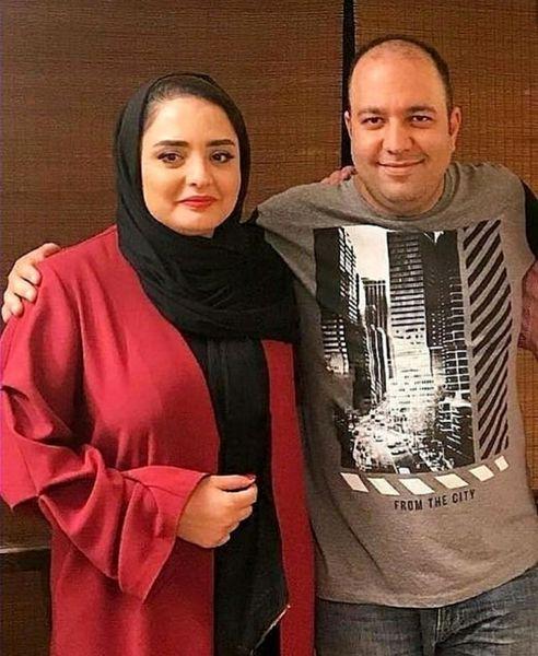 نرگس محمدی و شوهر جانش