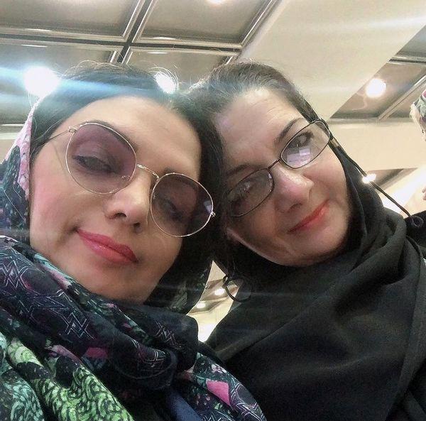 شباهت الهام پاوه نژاد به خواهرش + عکس