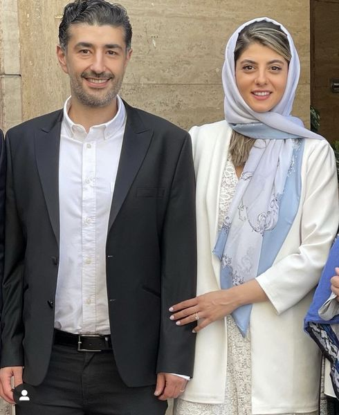 بازیگر دیوار به دیوار ازدواج کرد + عکس
