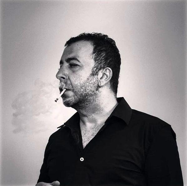 سیگار کشیدن بازیگر مشهور + عکس