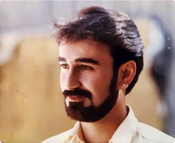 مهران احمدی در جوانی + عکس