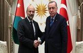اردوغان با نخستوزیر اردن دیدار کرد