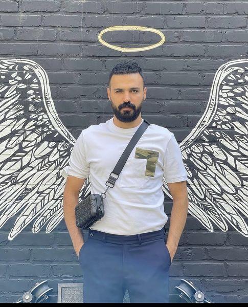 بال های فرشته ای سامان صفاری + عکس