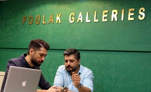 پندار اکبری و برادرش در شغل دومشان+عکس