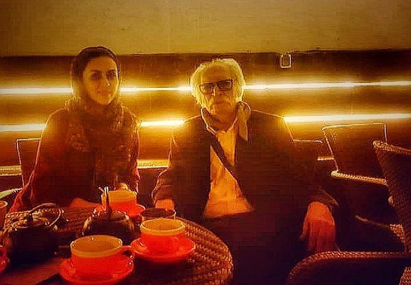 بازیگر برادر جان و آقای نویسنده معروف در کافه+عکس