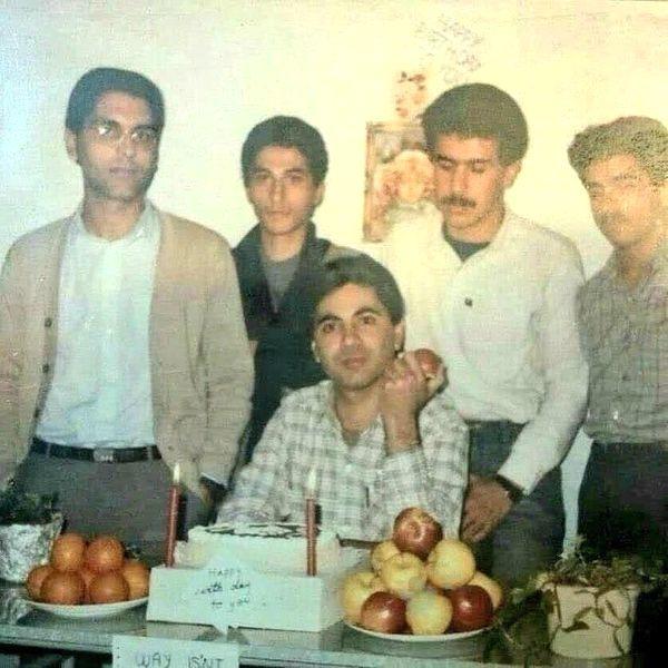 مهران مدیری در زمان دانشجویی + عکس