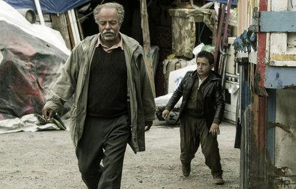 گریم متفاوت سعید آقاخانی در کامیون+عکس