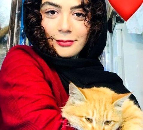 مارال فرجاد و حیوان محبوبش+عکس