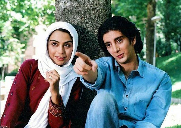 عکس دیده نشده از جوانی فرزاد فرزین و مارال فرجاد در کنار هم