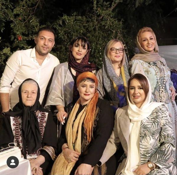 نعیمه نظام دوست در جمع خانواده اش + عکس