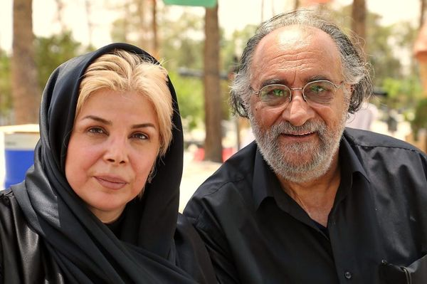 حشمت فردوس و همسر مرحومش+عکس