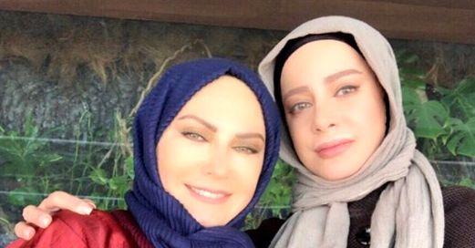 تبریک شراره رخام به لعیا زنگنه در جشنواره جام جم