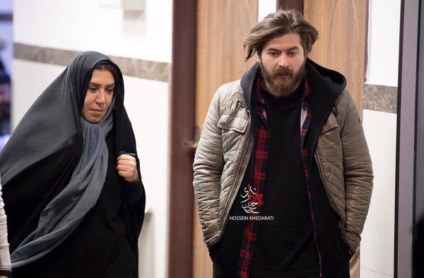 همبازی شدن برادر هومن سیدی با خانم بازیگر در یک فیلم + عکس