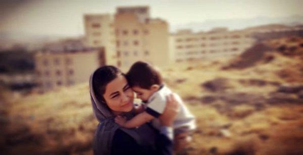 عکس عاشقانه یاسمینا باهر و پسرش