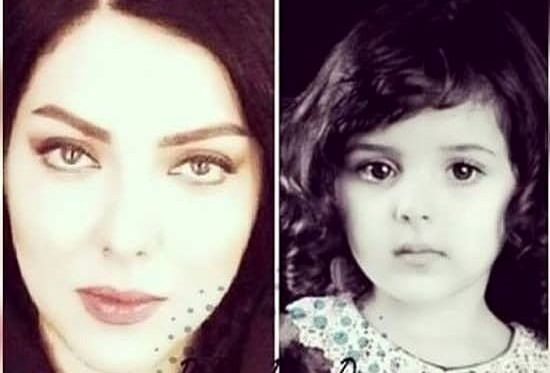 زیبایی چشم گیر خانم بازیگر از کودکی تا حال+عکس