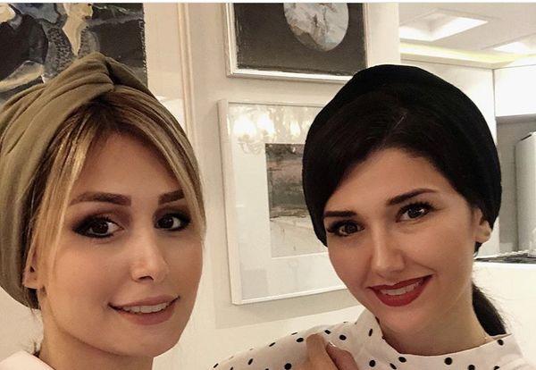 همسر و خواهر شاهرخ استخری در کنار هم + عکس