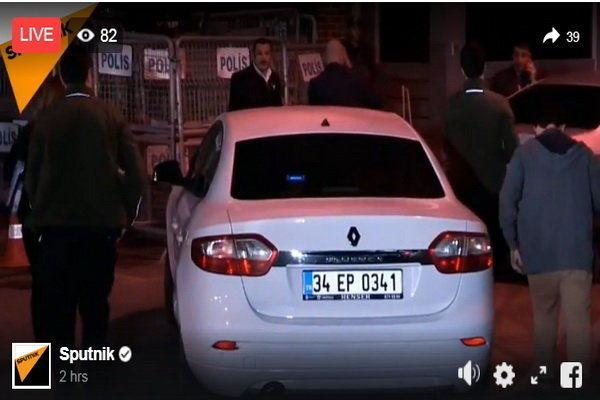 بازرسان ترکیه به منزل کنسول سعودی در استانبول وارد شدند