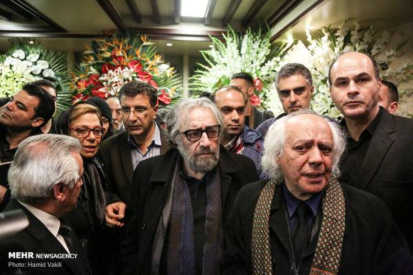 تسلیت گویی متفاوت «مسعود کیمیایی» به «سیروس الوند»/عکس