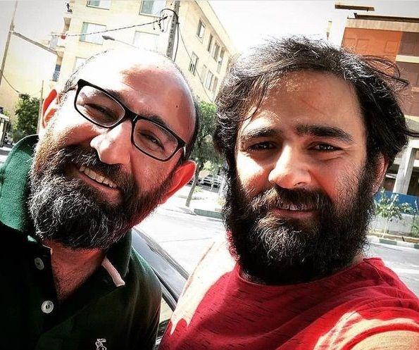 عکس دو برادر بازیگر کپی هم