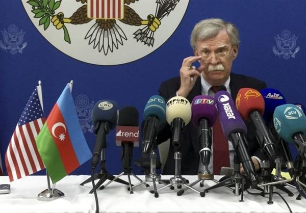 دستور کار ضدایرانی «بولتون» در سفر به آذربایجان