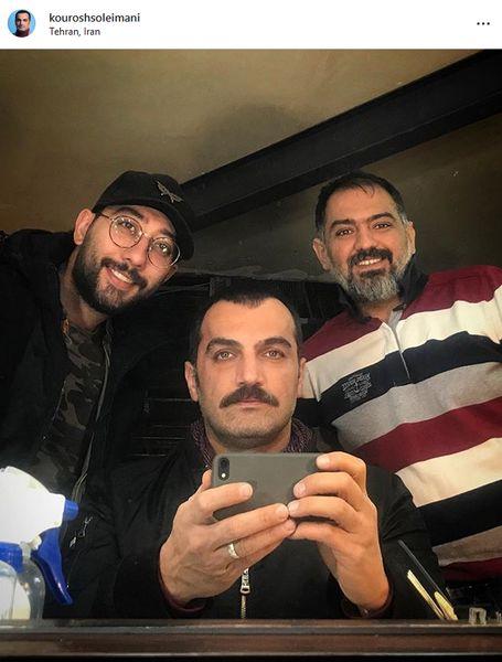 کوروش سلیمانی و دوستانش + عکس