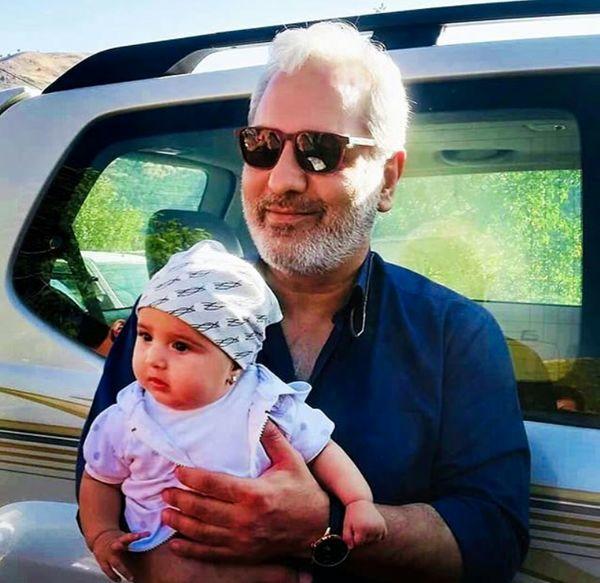 نوزاد کوچولوی هوادار مهران مدیری + عکس