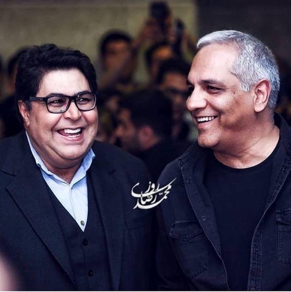 مهران مدیری و بازیگر هیولا + عکس
