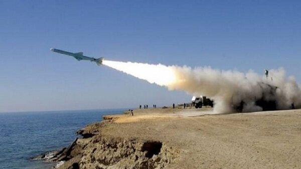 آزمایش موشکی حماس در نوار غزه