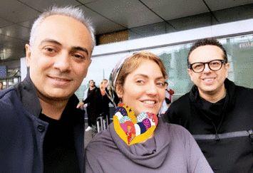 مهناز افشار و رفقای معروفش در آلمان+عکس