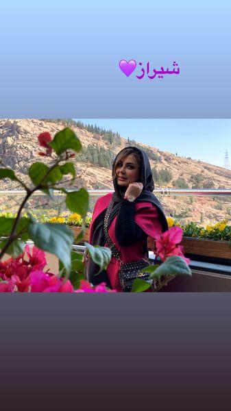 نیوشا ضیغمی در شیراز + عکس