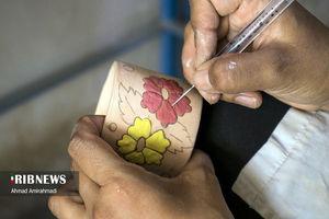 تولید سرامیک صادراتی در یک روستا + عکس