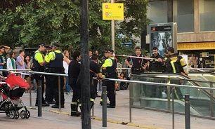 هشدار وجود بمب و تخلیه ایستگاه متروی بارسلون