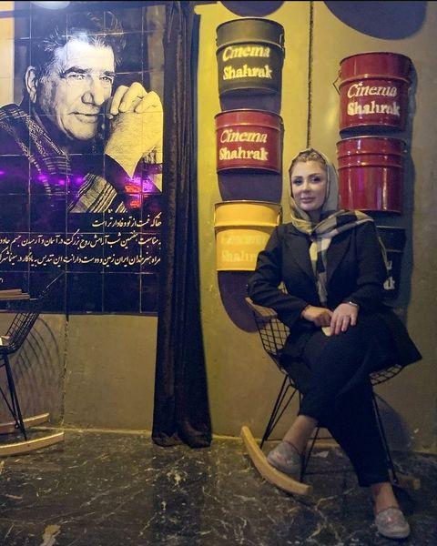نیوشا ضیغمی در کافه ای متفاوت + عکس